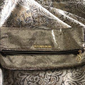 Gold Victoria secret bag
